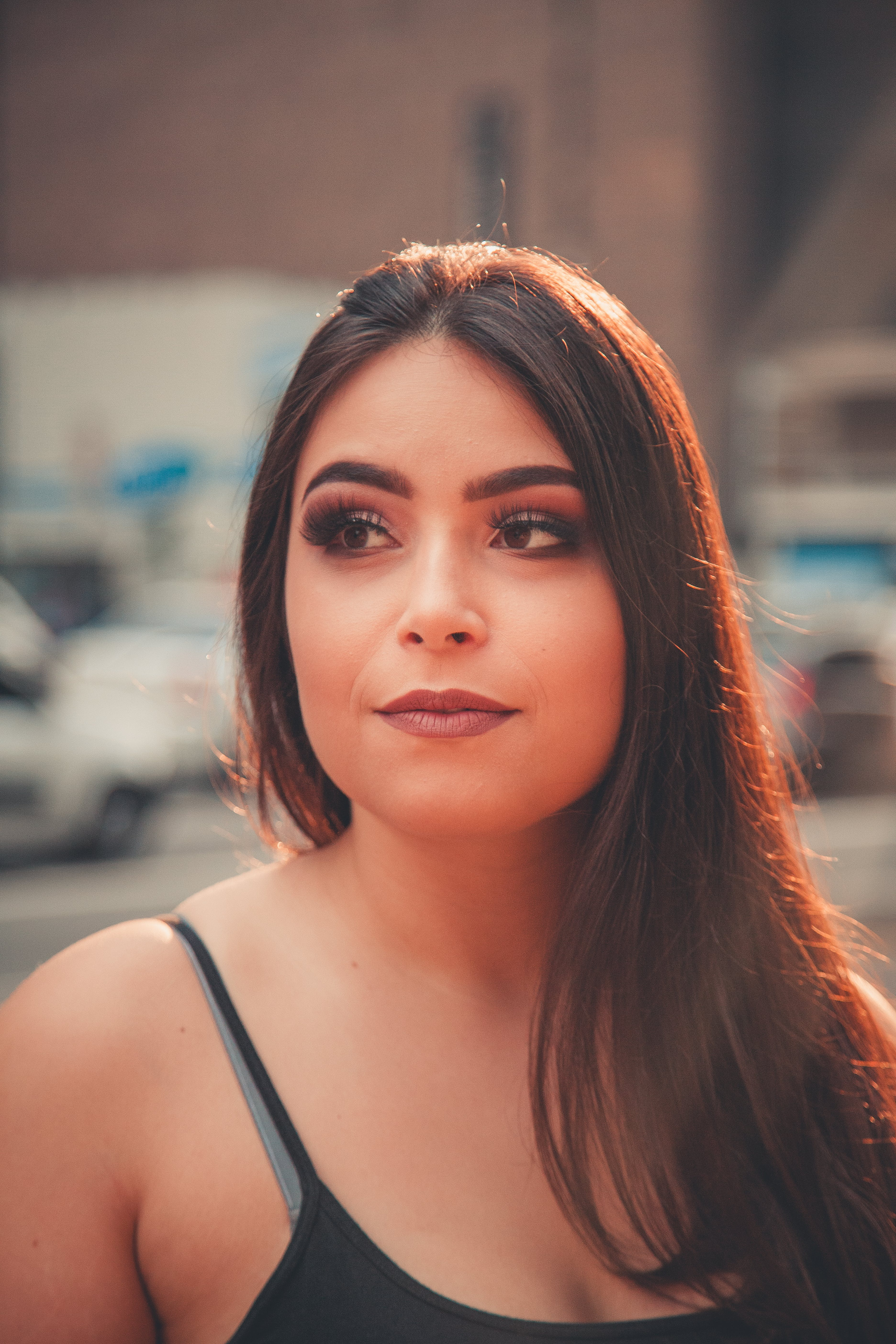 Gratis lagerfoto af ansigt, ansigtsudtryk, brunette, Festival