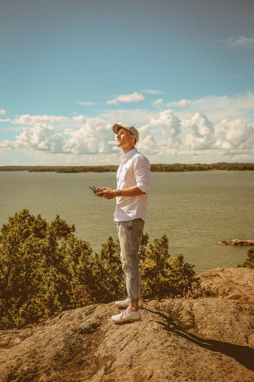 Fotobanka sbezplatnými fotkami na tému dron, leto, lietanie, more