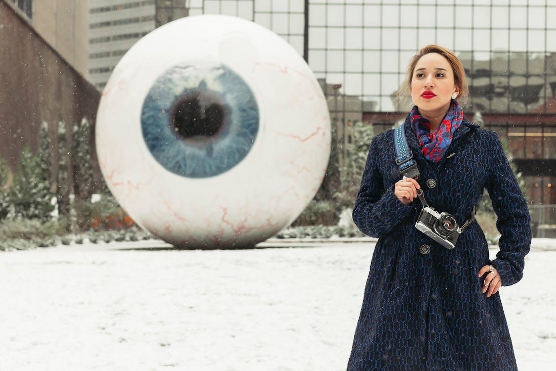 Giant Eyeball Sculpture