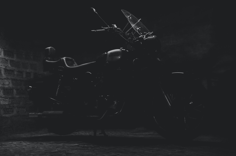 Foto d'estoc gratuïta de bici, moto, motocicleta índia, reial enfield