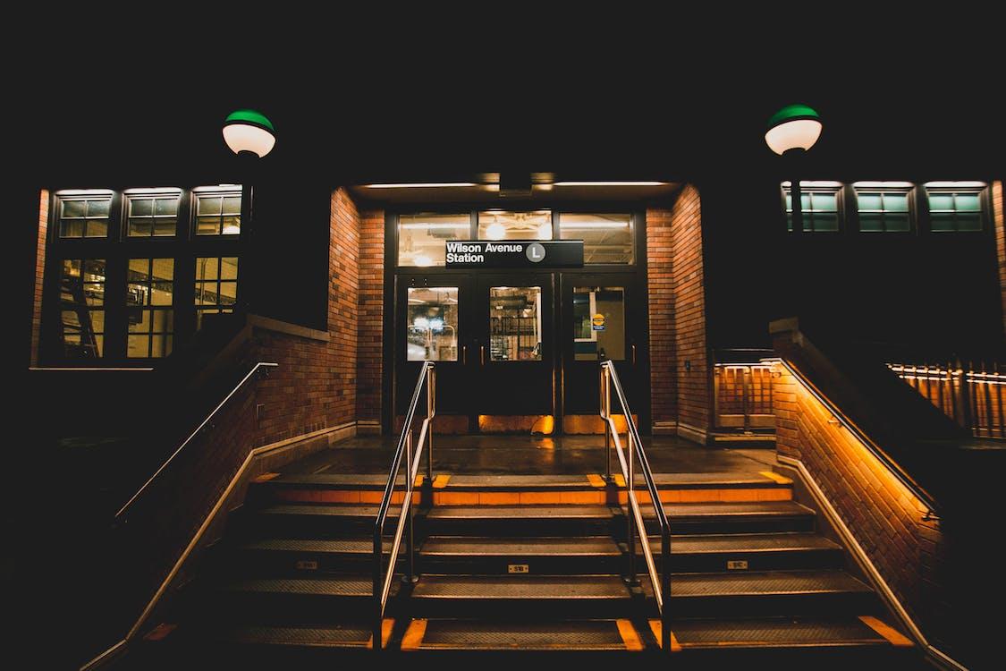 ao ar livre, arquitetura, cair da noite