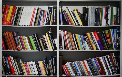 Gratis lagerfoto af bibliotek, bøger, boghandel, bogreol