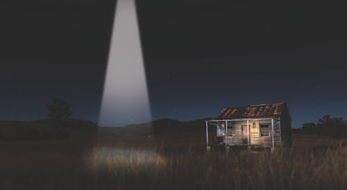 Free stock photo of abduction, aliens, house, shack