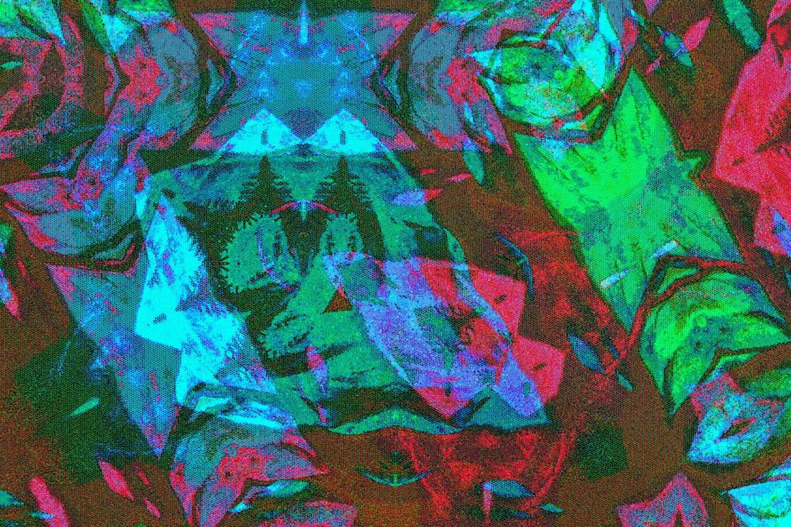 4k-baggrund, abstrakt, illustration