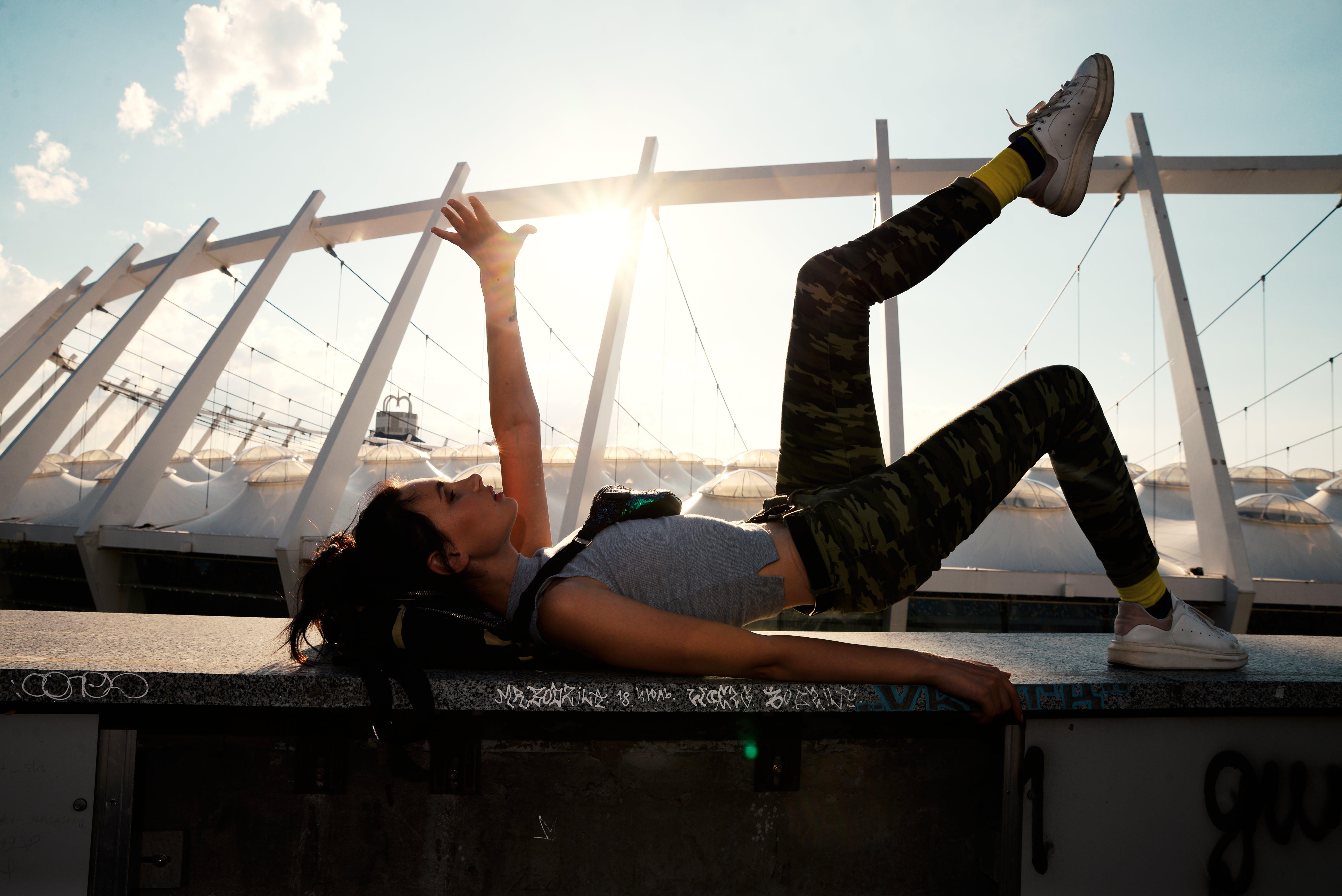 açık hava, antrenman yapmak, boş zaman, dinlenme içeren Ücretsiz stok fotoğraf