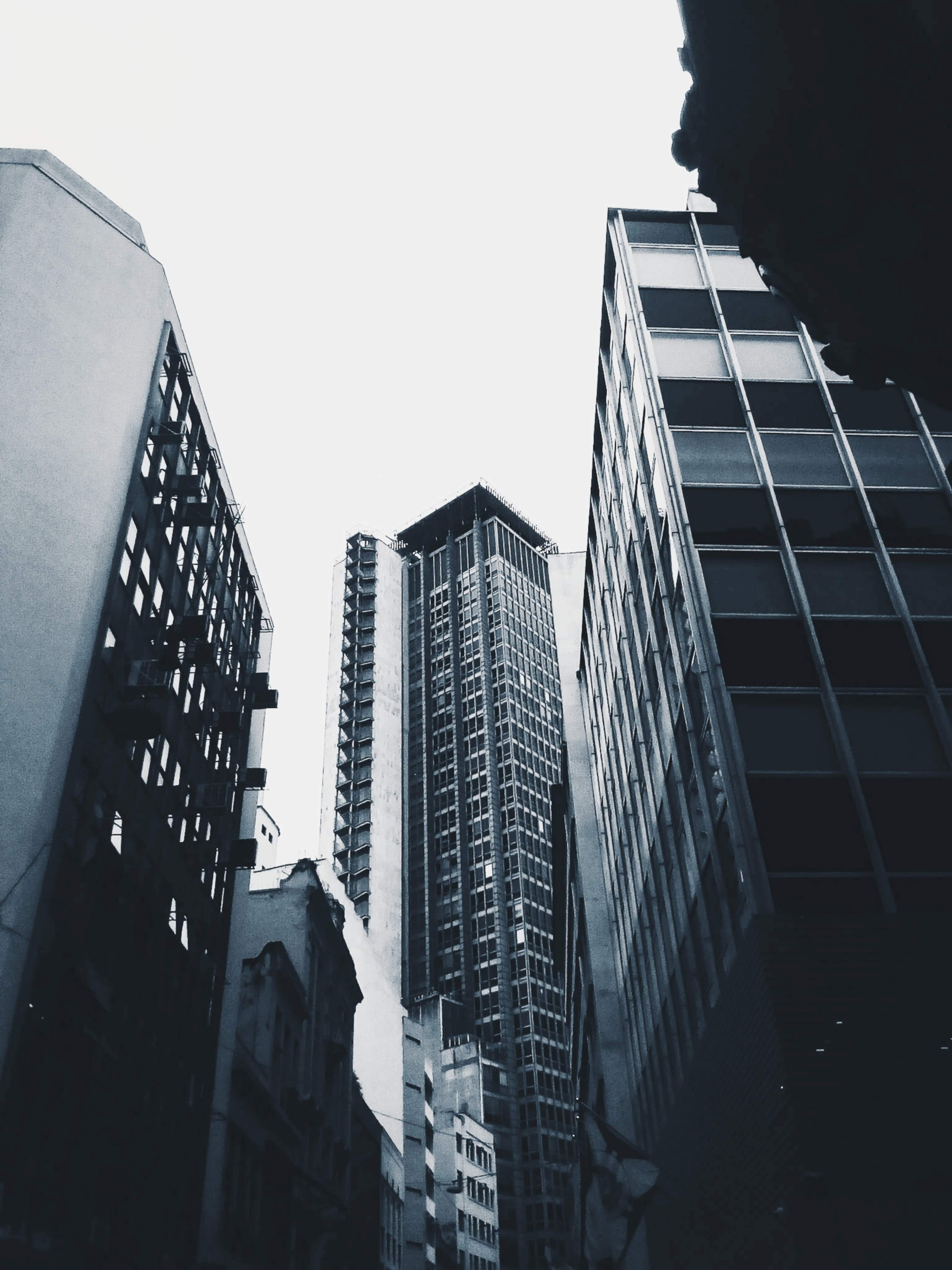 Low Angle Photography of Tall Buildings