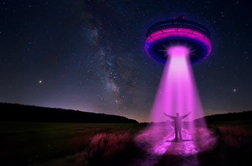 Free stock photo of alien, alien abduction, ufo