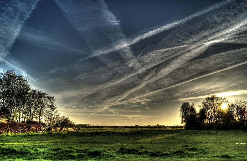 clouds, cloudy, dawn