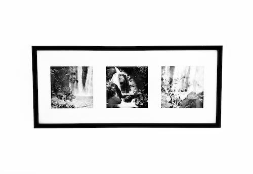 Immagine gratuita di bianco e nero, cornice, muro