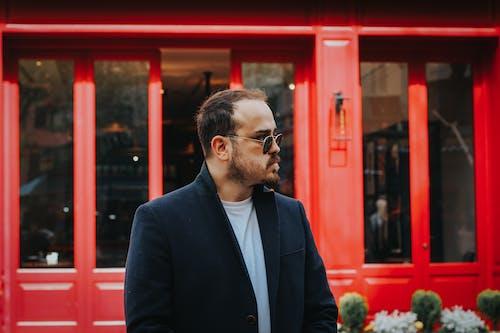 Δωρεάν στοκ φωτογραφιών με casual, άνδρας, γυαλιά οράσεως, έκφραση προσώπου