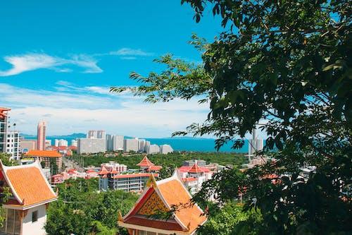 Kostnadsfri bild av arkitektur, blå himmel, byggnader, dagsljus