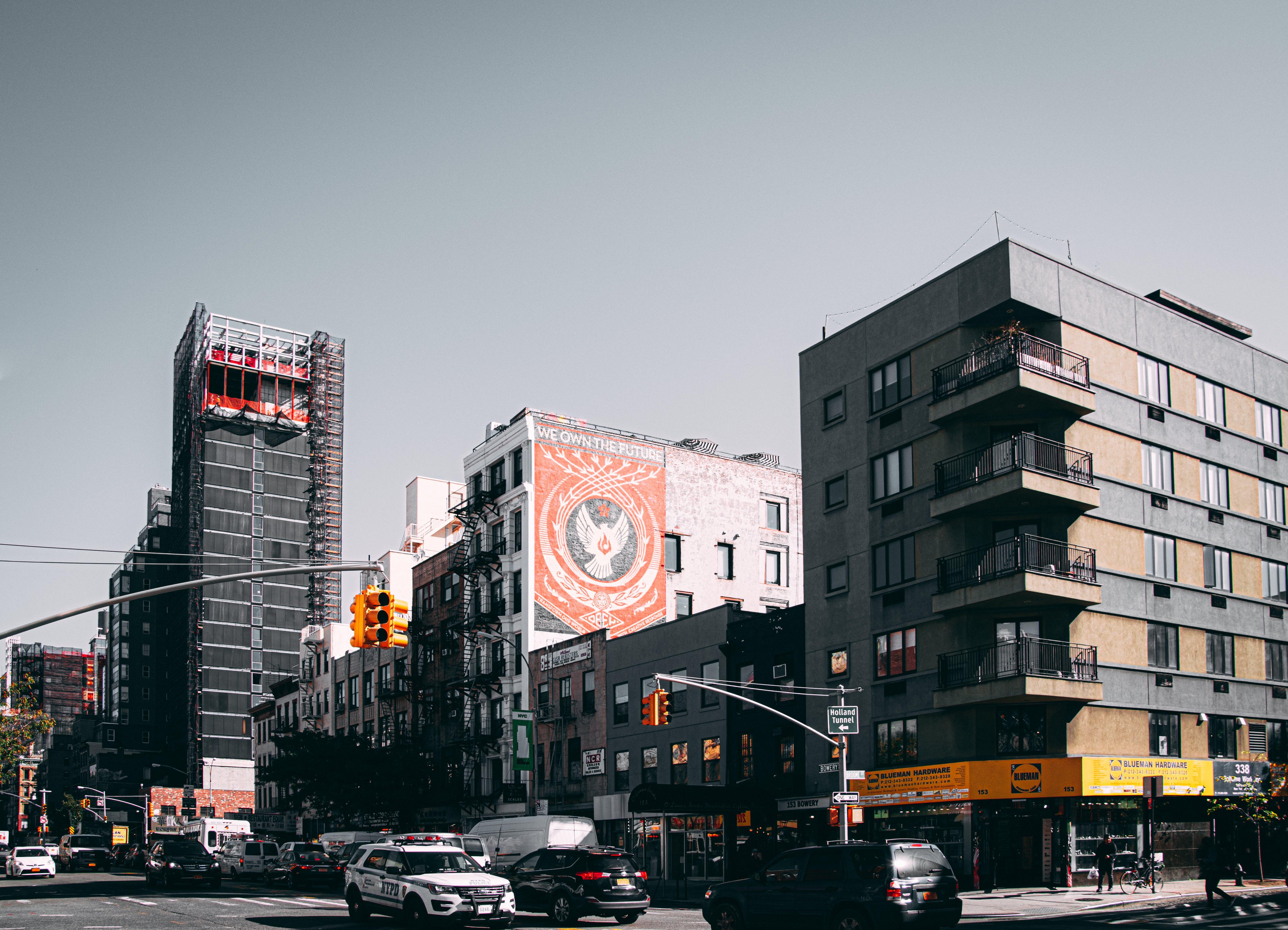 Δωρεάν στοκ φωτογραφιών με 4k ταπετσαρία, manhattan, nyc, αρχιτεκτονική