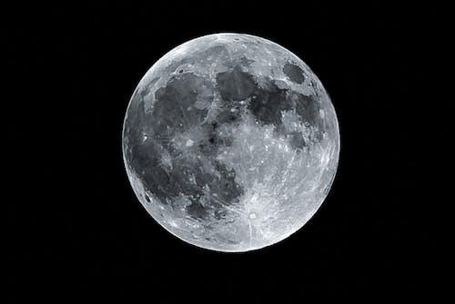 Gratis lagerfoto af måne
