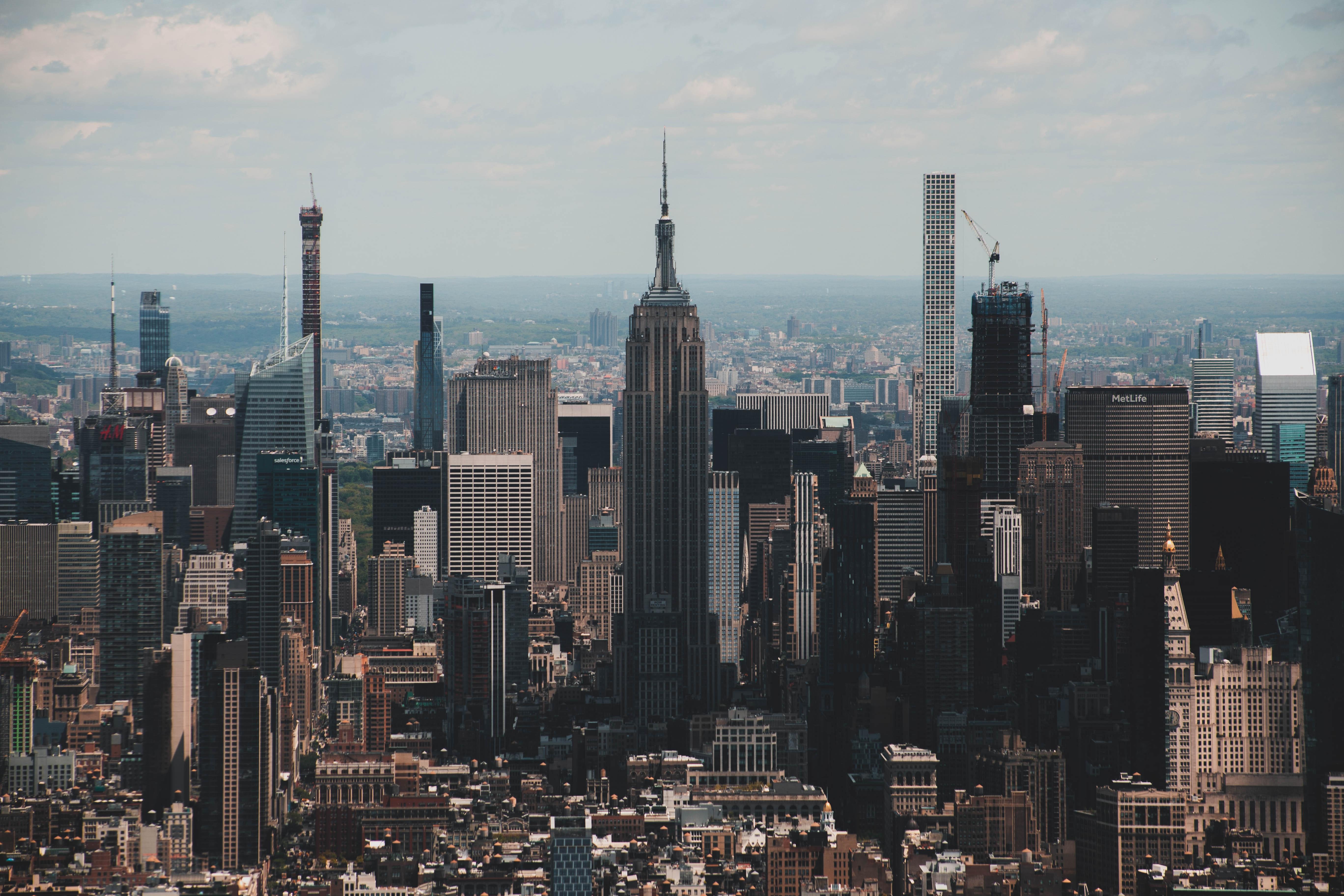 New York City Skyline Free Stock Photo