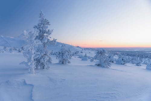 Kostenloses Stock Foto zu 4k wallpaper, blaue stunde, eisig, finnland