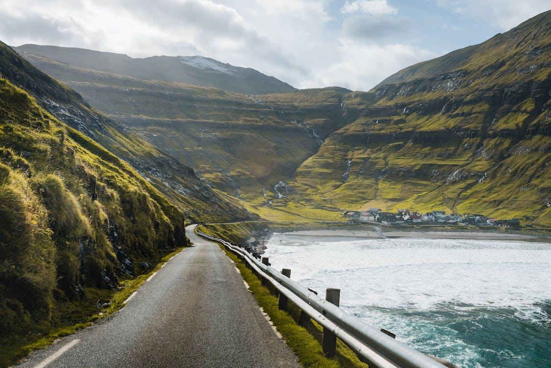 Concrete Road Beside Sea