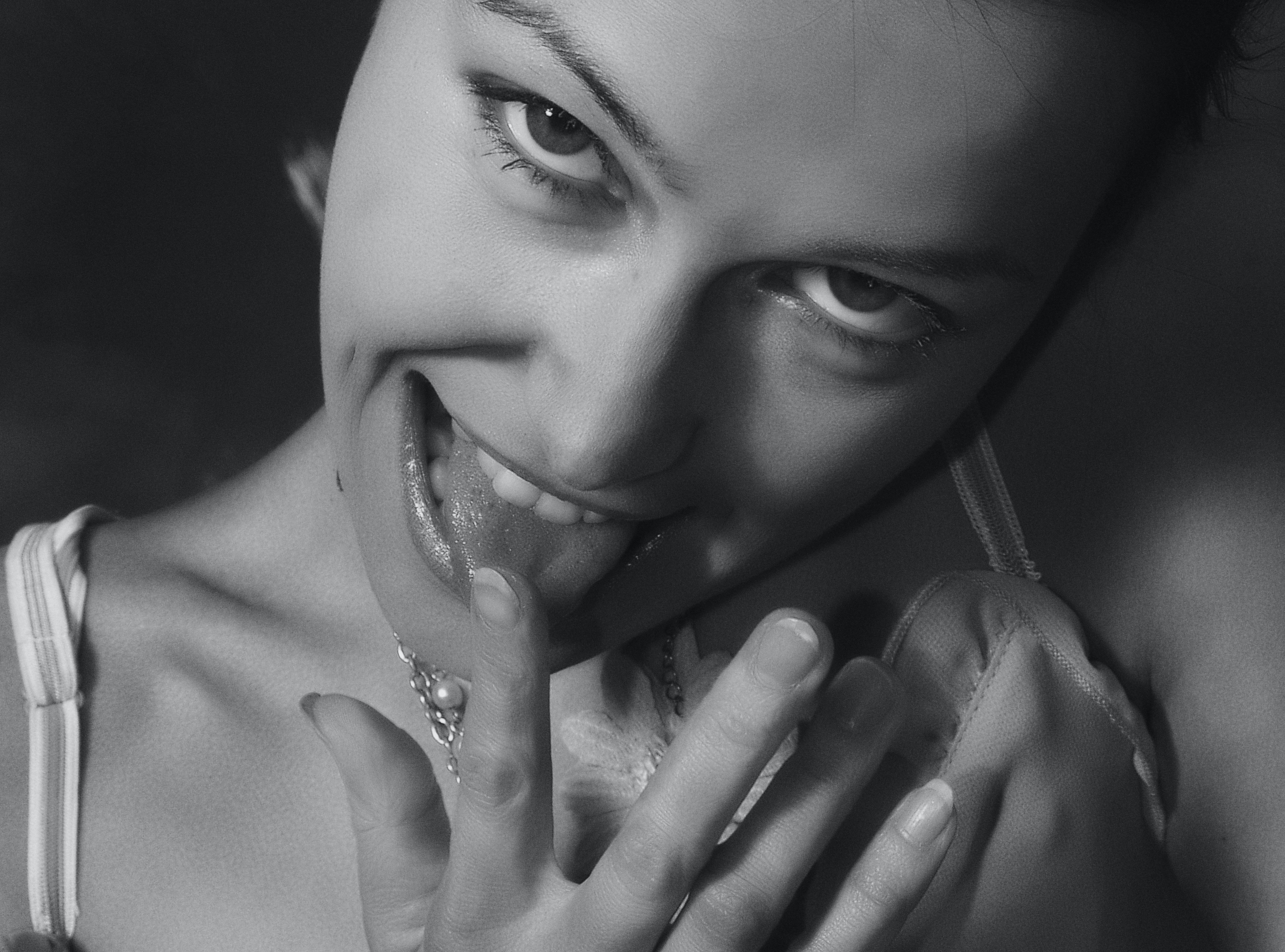 Kostnadsfri bild av глаза, губы, девушка, женский пол