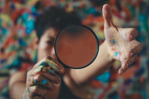 Základová fotografie zdarma na téma fotka, kreativní, malování, osoba
