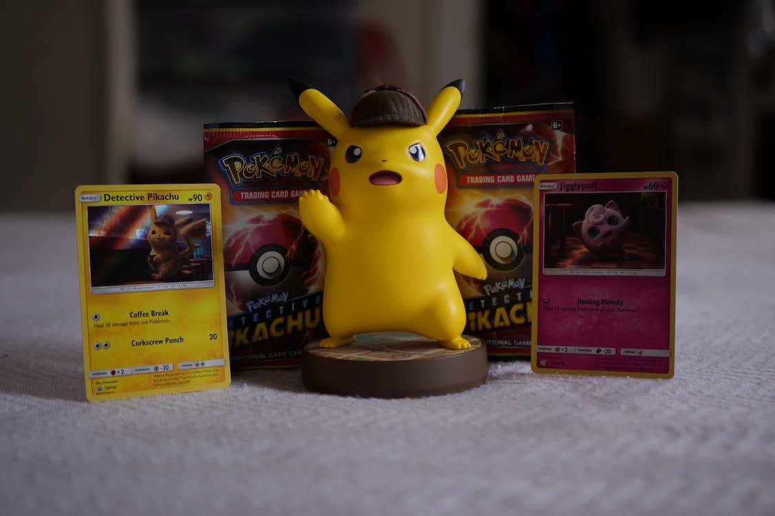 Free stock photo of pikachu, pokemon, Pokémon Detective Pikachu