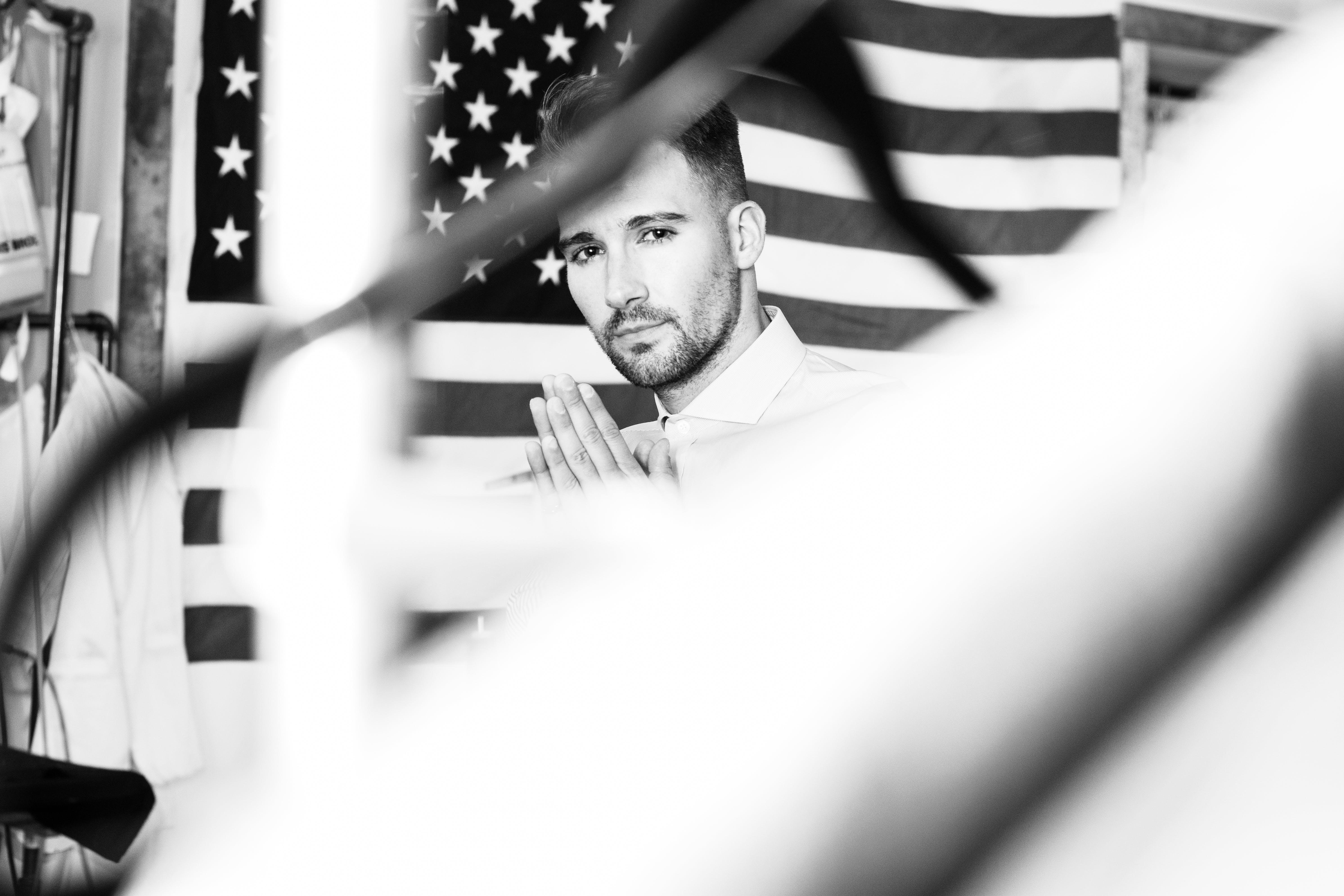 Základová fotografie zdarma na téma Americká vlajka, armáda, dospělý, firma