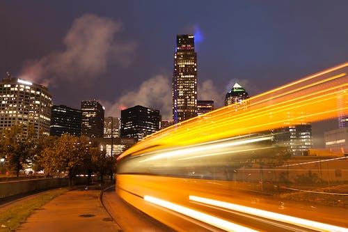 Photos gratuites de accéléré, architecture, autoroute, bâtiments