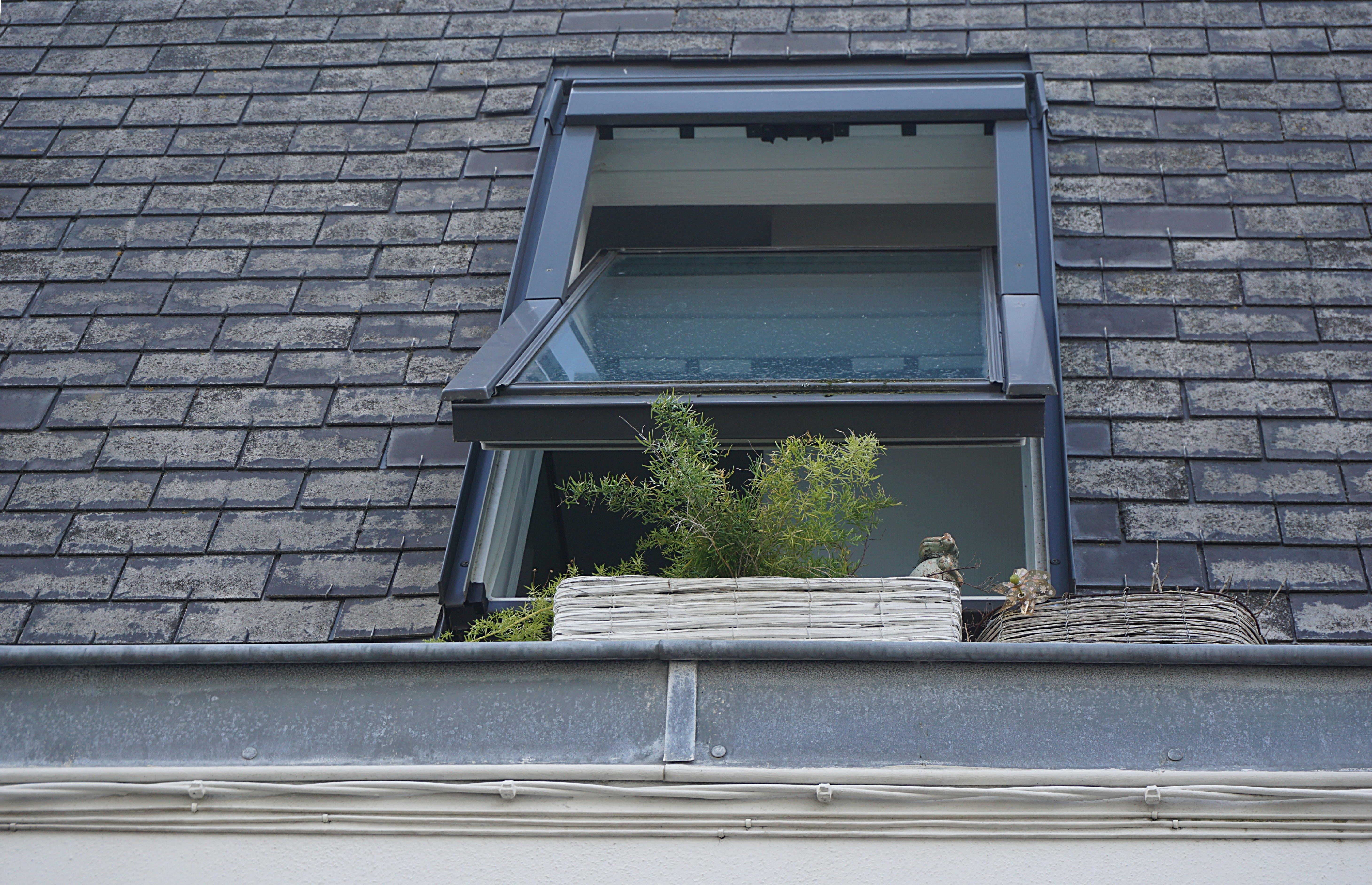 Clear Glass Window Open