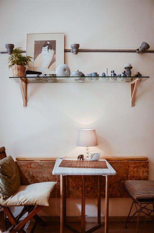asztal, belső, belsőépítészet