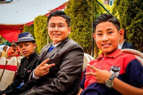 Gratis arkivbilde med asiatisk gutt, daura shural, formell, kathmandu