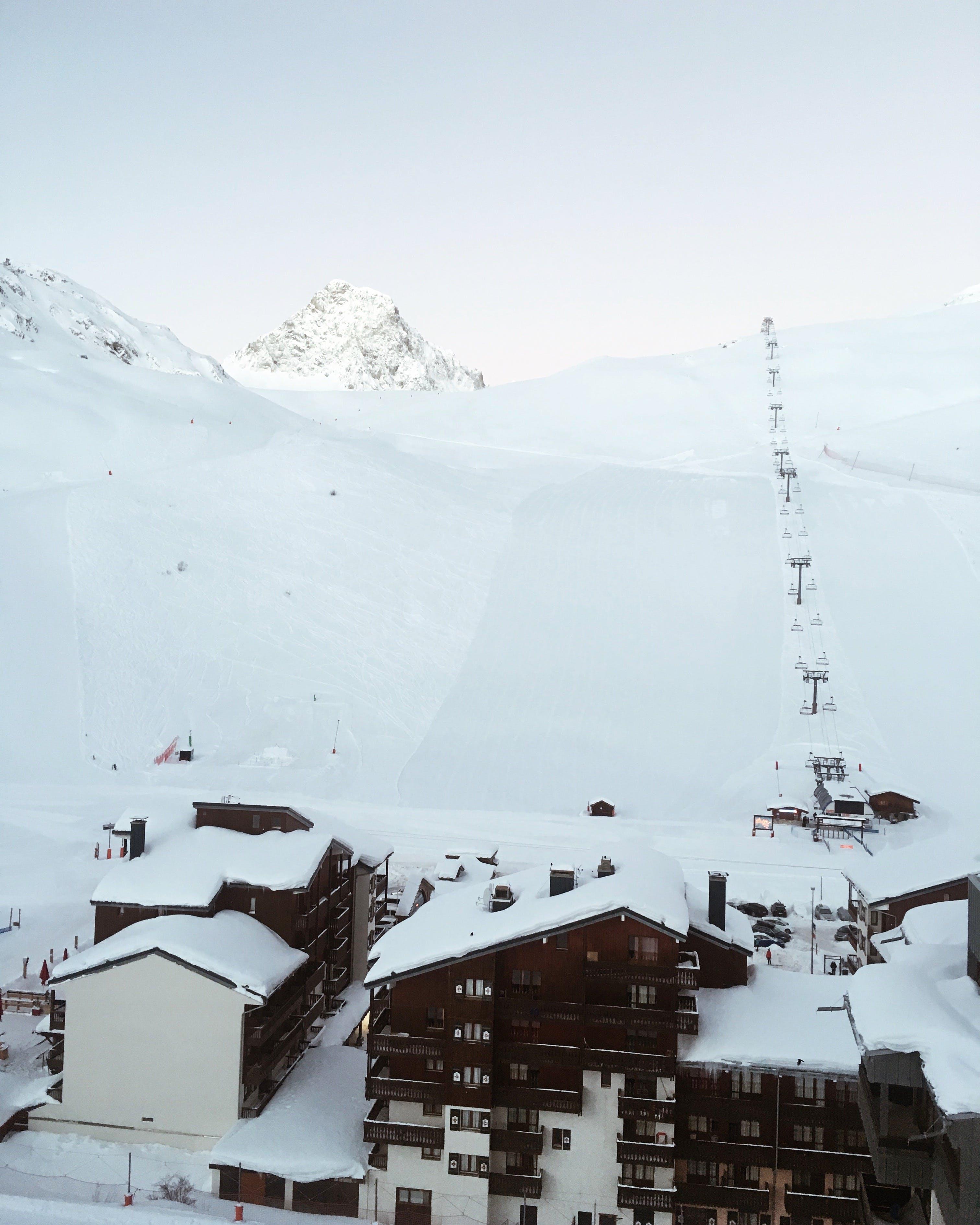 Ingyenes stockfotó befagyott, hegy, hideg, hó témában