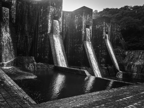 Free stock photo of #water, dam, waterfall