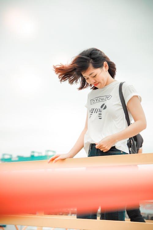Ingyenes stockfotó aranyos lány, ázsiai lány, ázsiai nő, divat témában