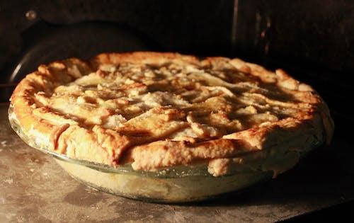 Základová fotografie zdarma na téma jablečný koláč