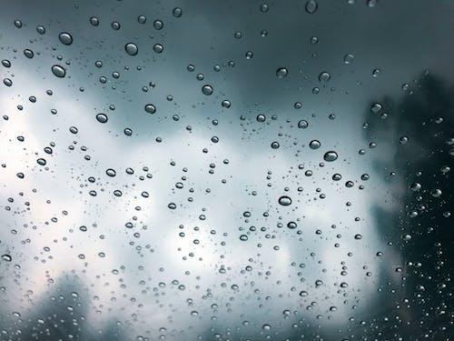 คลังภาพถ่ายฟรี ของ flim, กระจก, ฝน, ฝนตก
