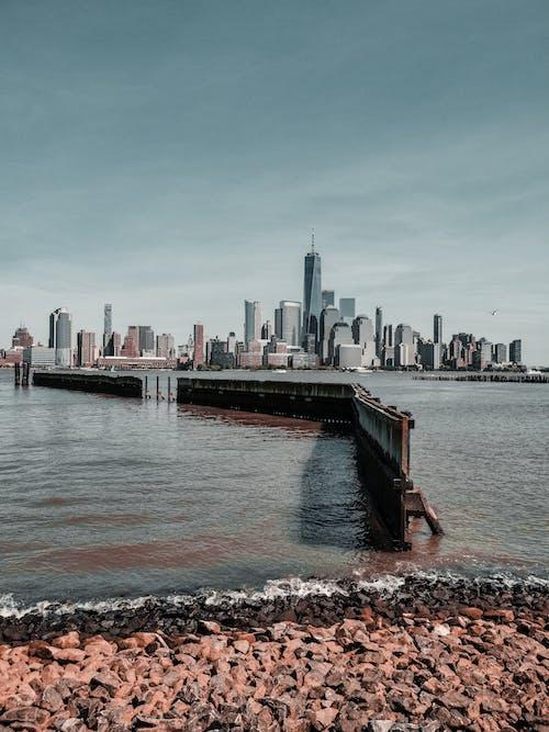Základová fotografie zdarma na téma hnědý pískovec, Manhattan, město new york, mrakodrapy