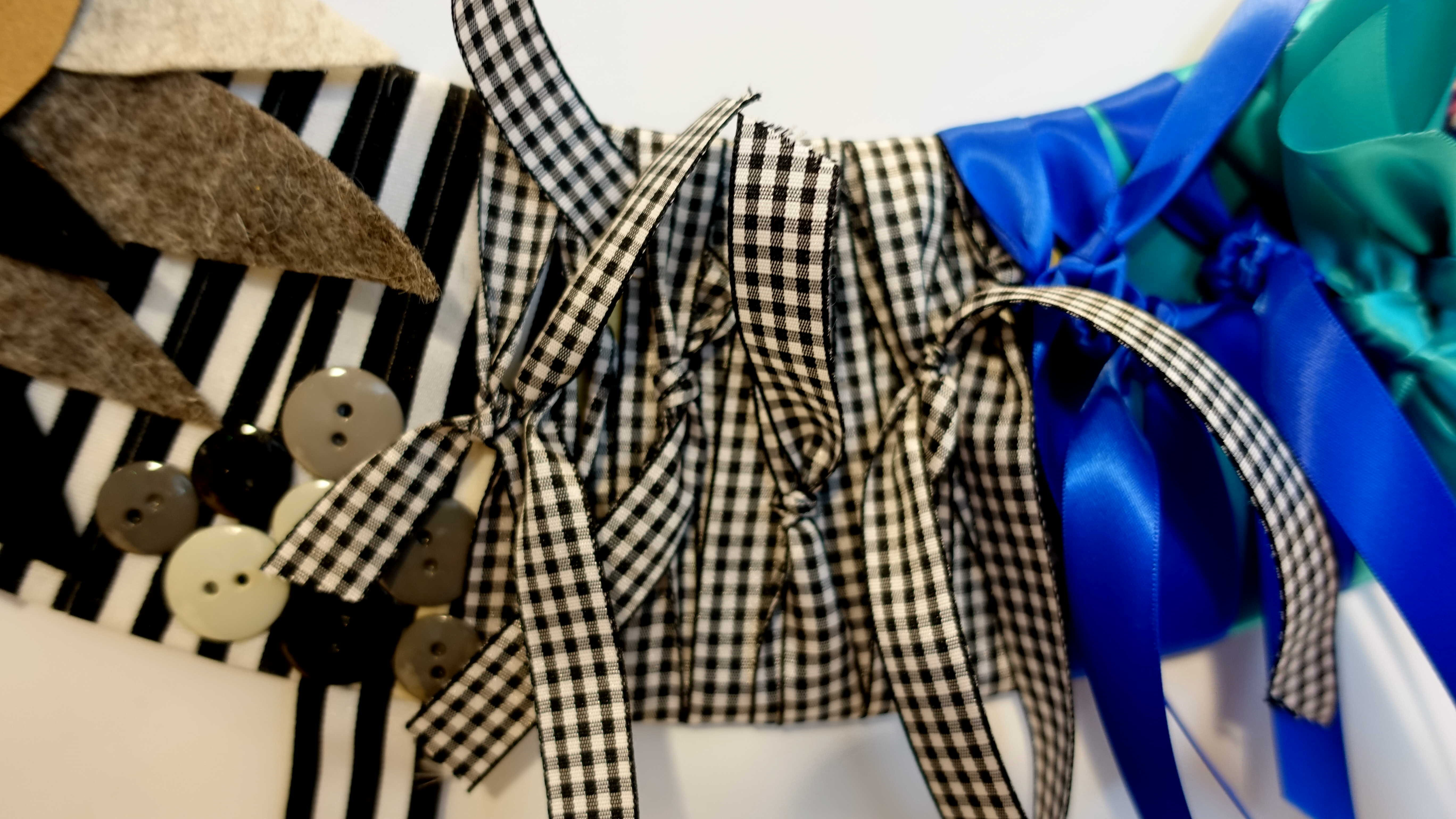Free stock photo of bows, buttons, gingham, ribbons