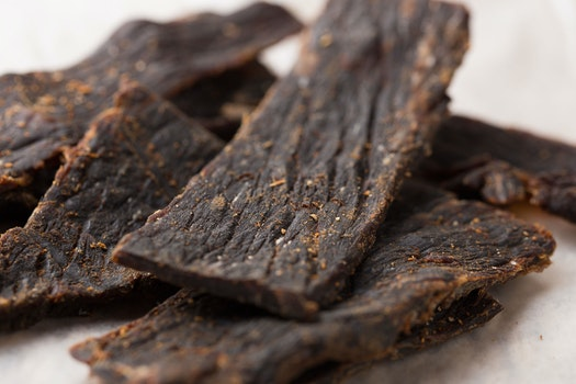 Free stock photo of beef, jerky, beef jerky