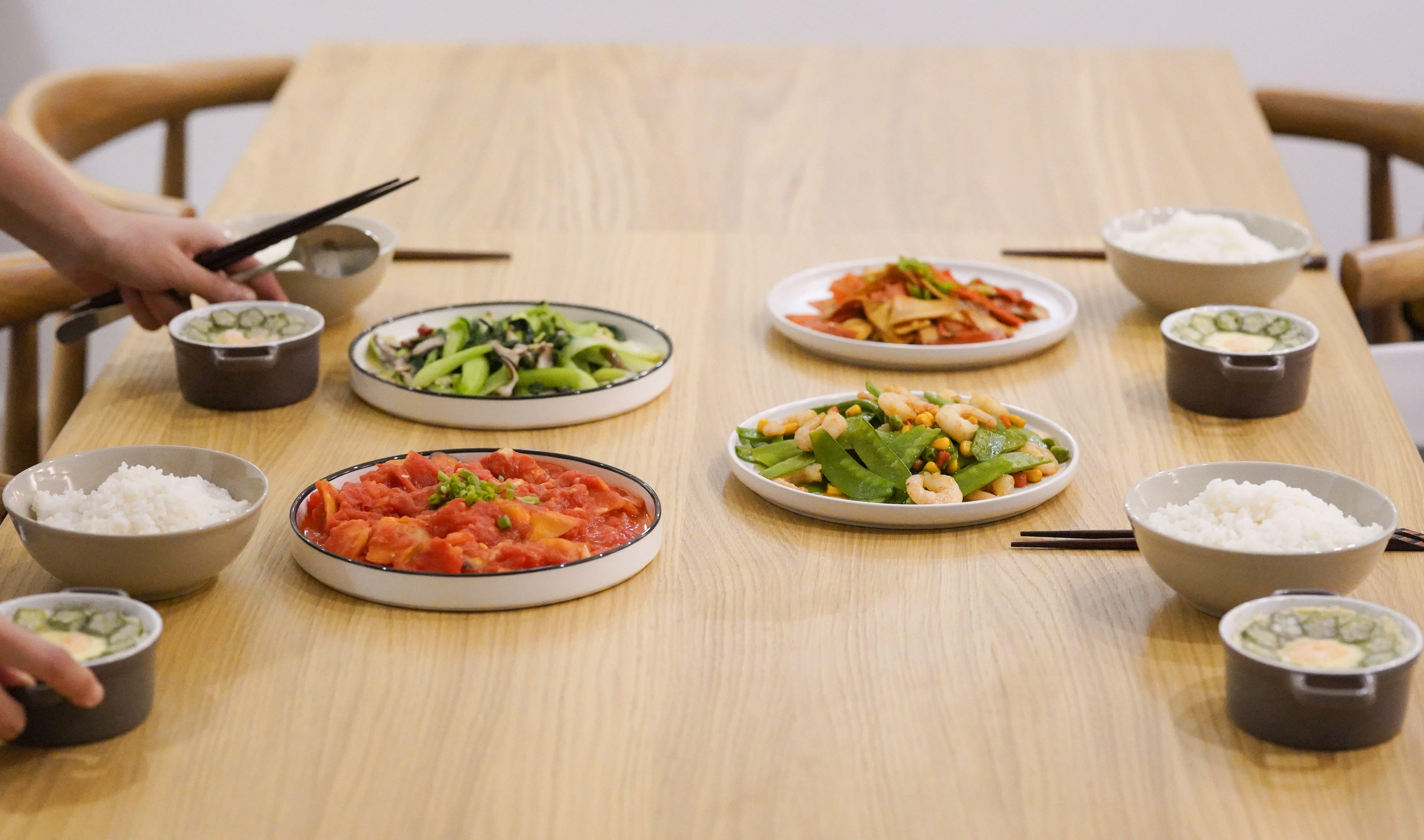Fotos de stock gratuitas de almuerzo, arroz, bol, cena