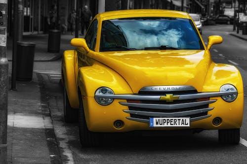 Free stock photo of car, chevrolet, city scape, cityscrapers
