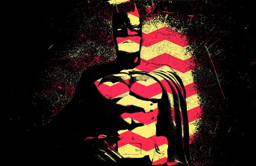 Free stock photo of batman, retro