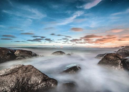 Free stock photo of sea, sky, ocean, rocks