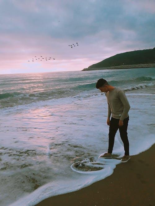 Δωρεάν στοκ φωτογραφιών με γαλάζια νερά, γαλάζιος ουρανός, θάλασσα, Καλημέρα