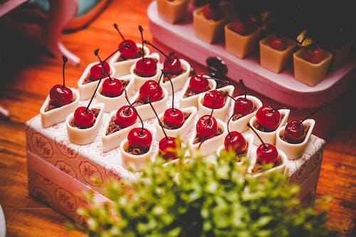 Foto d'estoc gratuïta de cireres, deliciós, dolços, fruita
