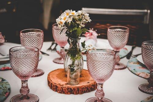 Безкоштовне стокове фото на тему «Бокали для вина, скляні речі, склянки, центральний»