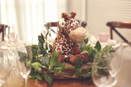 Stuffed Animal Centerpiece