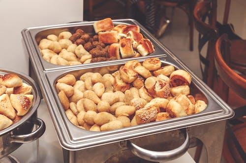 ekmek, Gıda, hamur işleri, lezzetli içeren Ücretsiz stok fotoğraf