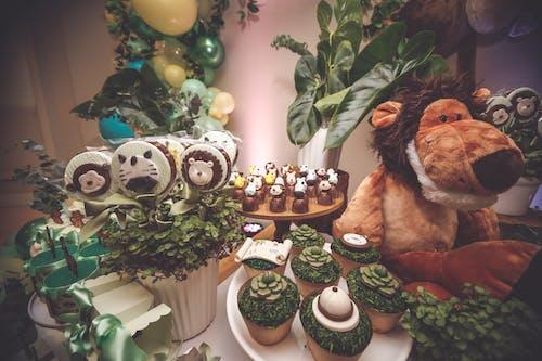 dekorasyon, Gıda, kutlama, şekerlemeler içeren Ücretsiz stok fotoğraf