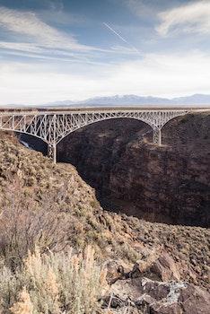 Free stock photo of road, desert, bridge, architecture
