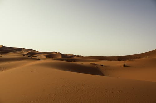Free stock photo of desert, dunes, landscape photography, morocco