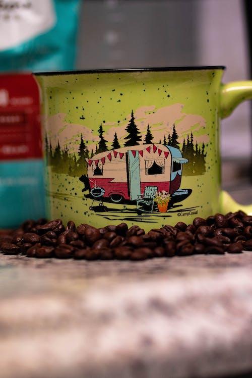 Darmowe zdjęcie z galerii z filiżanka kawy, kawa, kemping, parzona kawa
