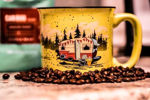 Darmowe zdjęcie z galerii z czarna kawa, filiżanka kawy, kawa, kemping